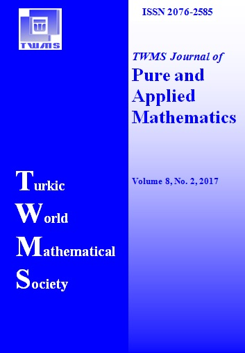 TWMS Journal of Pure and Applied Mathematics